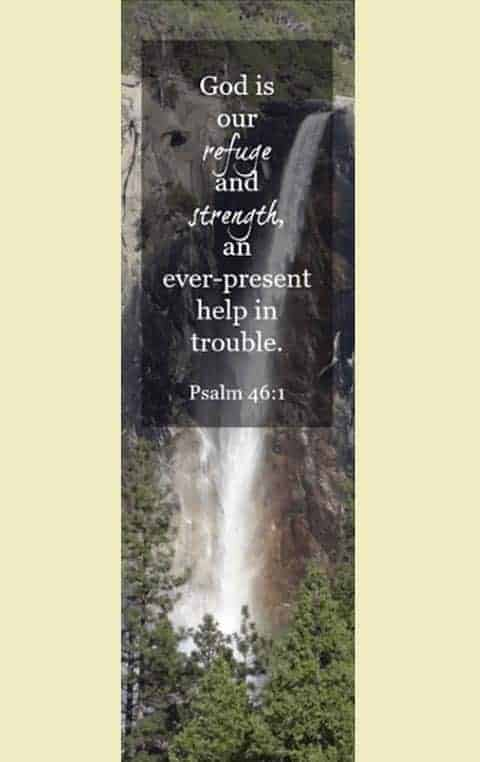 bookmark psalm 46 1
