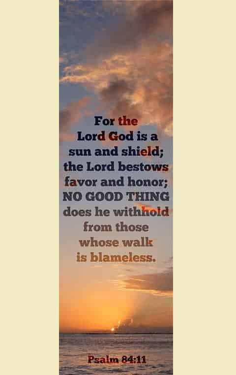 bookmark psalm 84-11