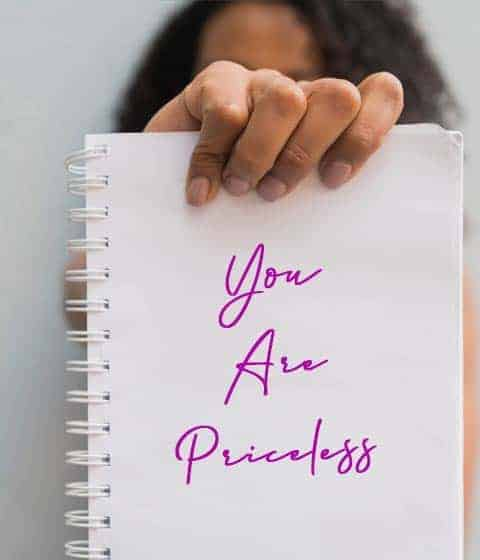 you are priceless girl